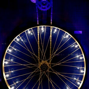Vasilios Roumeliotis - Wheelight - Gold n Blue