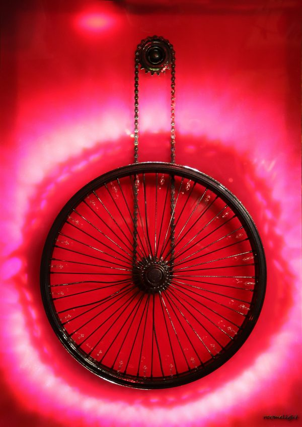 Vasilios Roumeliotis – Wheelight – Fuchsia Light